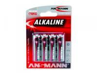 Baterie tužková alkalická AA (4ks)