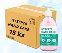 Dezinfekce rukou Hysepta Hand Care 0,5l - karton 15ks