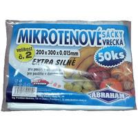Mikrotenové sáčky 200x300 50ks