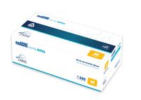 Rukavice antimikrobiální nitril bez pudru 200ks mediCARE AMG