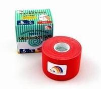 Tejpovací páska TEMTEX Classic 5cm x 5 m červená
