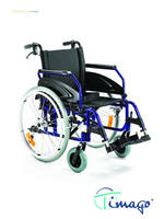 Invalidní vozík Timago WA 163-1/51