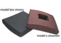 Antidekubitní sedák vaflovaný 39x39x8 s otvorem