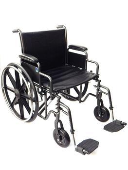 Invalidní vozík Timago K7, nosnost 225kg (XL,XXL)  - 1
