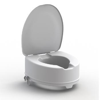 Nástavec na WC 15cm s poklopem  - 1