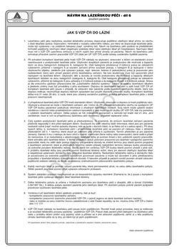 Návrh na lázeňskou péči - NCR  - 2