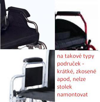 Stolek k vozíku H 011  - 2