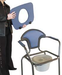 Křeslo toaletní nastavitelné OPEN modré  - 6