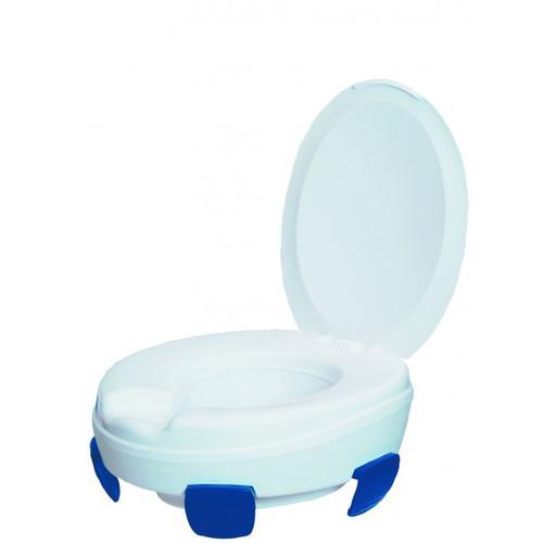 Nástavec na WC 10cm s poklopem CLIPPER III
