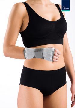Bandáž zápěstí elastická s výztuhou - L