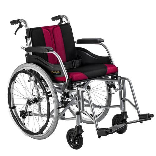 Invalidní vozík Timago WA C2600 46 cm / černo-bordó