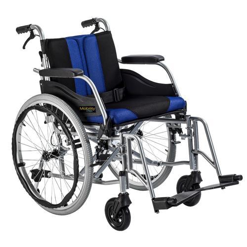 Invalidní vozík Timago WA C2600 Premium 48 cm / černo-modrý