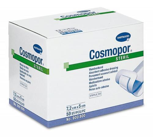 Cosmopor steril - různé rozměry 7,2 x 5 cm, 50 ks