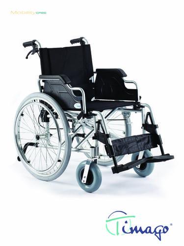 Invalidní vozík Timago FS 908 LJQ - 46 cm / černý / 100kg