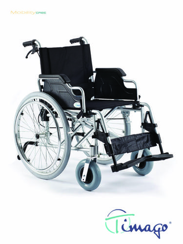 Invalidní vozík Timago FS 908 LJQ - 43 cm / černý / 100kg
