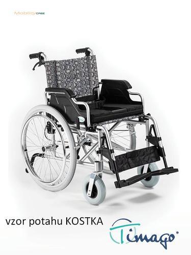 Invalidní vozík Timago FS 908 LJQ - 46 cm / kostka / 100kg