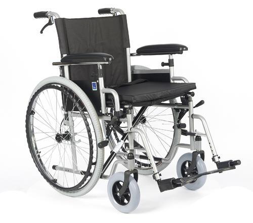 Invalidní vozík Timago H011 BD 46 cm s nafukovacími koly, nosnost 115kg