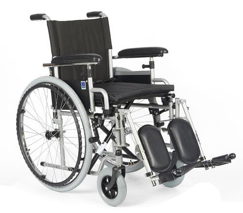 Invalidní vozík Timago H011 ELR 46cm s regulací stupaček + plná kola