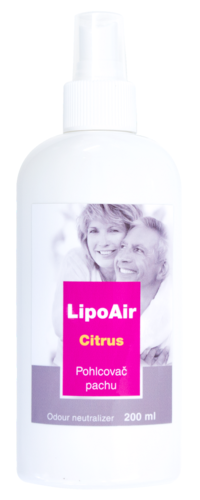 LipoAir pohlcovač pachu - více variant Citrus