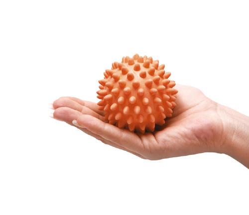 Masážní míček ježek Ø 8cm s reg.tvrdosti