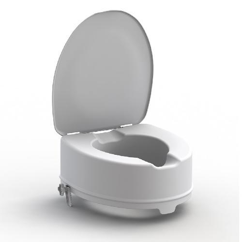 Nástavec na WC 15cm s poklopem