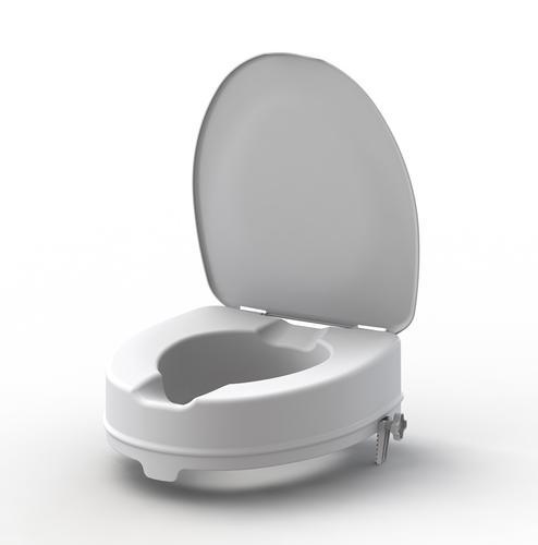 Nástavec na WC 10cm s poklopem