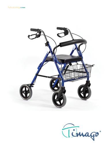 Chodítko čtyřkolové RA882 -modré (DARK BLUE)